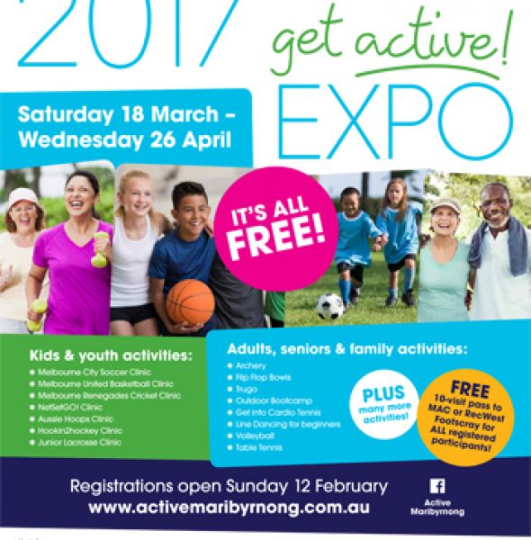 2017 Get Active! Expo